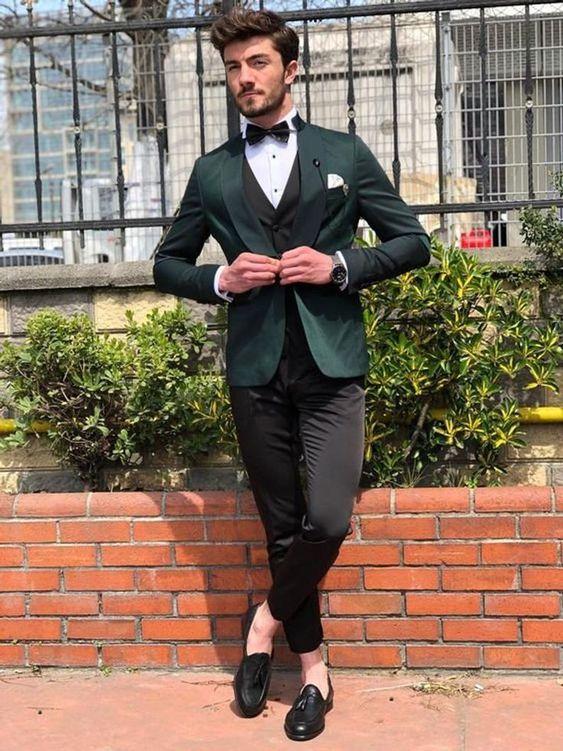 traje-de-novio-verde-combinado